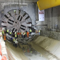 ¡Bienvenida Marta! Hito en las obras del Metro de Panamá
