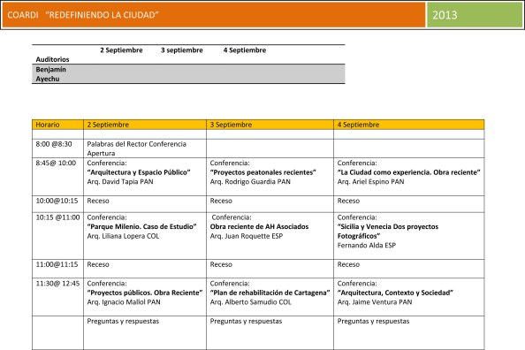 Microsoft Word - 130827 COARDI  (Programa final de conferencias)