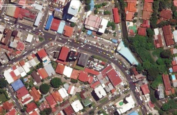 Situación actual en vista satelital