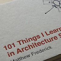 Cinco libros favoritos de los arquitectos